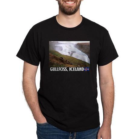 Gullfoss Black T-Shirt