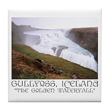Gullfoss Tile Coaster