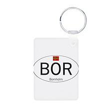 Car code Bornholm Keychains