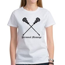 Personalized Lacrosse Sticks Tee