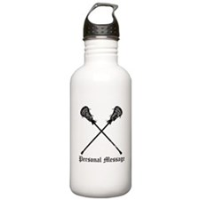 Personalized Lacrosse Sticks Water Bottle