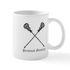 Personalized Lacrosse Sticks Mug