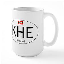 Car code Khemed White Coffee Mug