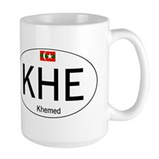 Car code Khemed White Mug