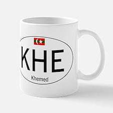 Car code Khemed White Mug