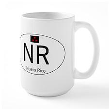Car code Nuevo Rico - White Coffee Mug
