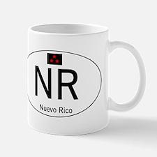 Car code Nuevo Rico - White Mug