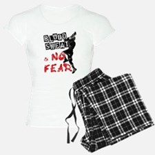 Blood, Sweat and No Fear (Lacrosse) Pajamas