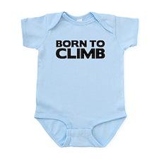 BORN TO CLIMB Infant Bodysuit