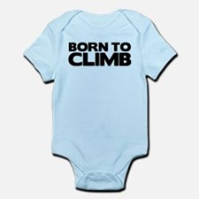 BORN TO CLIMB Infant Bodysuit