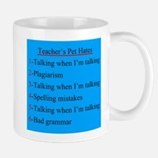 Pet Hates 1 BLUE 2 Mug