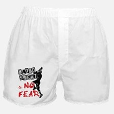 Blood, Sweat and No Fear (Lacrosse) Boxer Shorts
