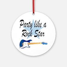 ROCK STAR Ornament (Round)