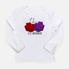 Two Roses: I have Cystic Fibrosis Long Sleeve Infa