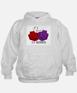 Two Roses: I have Cystic Fibrosis Hoodie