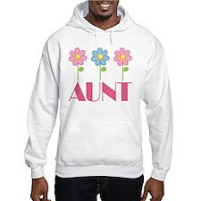 Aunt Gift (Flowered) Hoodie