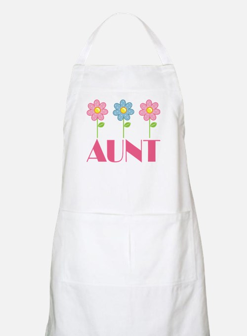 Aunt Gift (Flowered) Apron