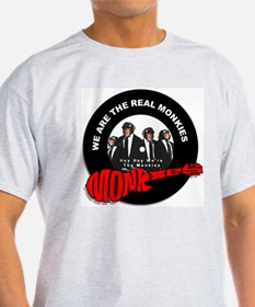 We Are The Real Monkies Ash Grey T-Shirt