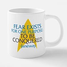Star Trek: Janeway Fear Quote Mugs