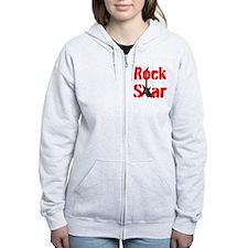 ROCK STAR Zip Hoodie