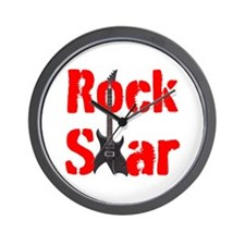 ROCK STAR Wall Clock