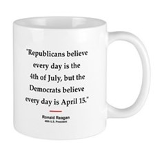 Ronald Reagan Quote #1 Small Mug