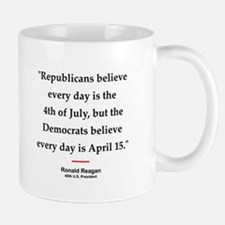 Ronald Reagan Quote #1 Small Small Mug