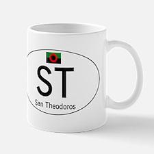 Car code San Theodoros Mug