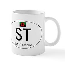 Car code San Theodoros Small Mug