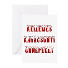 Kellemes Karacsonyi Greeting Cards (Pk of 10)