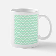 Mint Green Zigzags. Mug