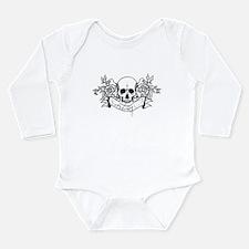 Skull Rose: Surviving C.F. Long Sleeve Infant Body