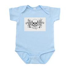 Skull Rose: Surviving C.F. Infant Bodysuit
