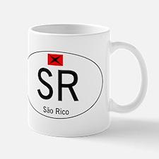Car code Sao Rico - White Mug