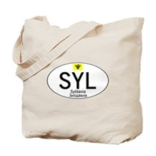 Car code Syldavia - White Tote Bag