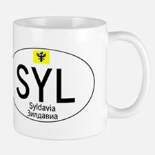 Car code Syldavia - White Mug