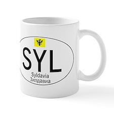 Car code Syldavia - White Mug