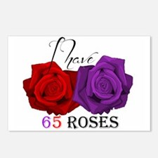 Two Roses: I have Cystic Fibrosis Postcards (Packa