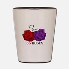 Two Roses: I have Cystic Fibrosis Shot Glass