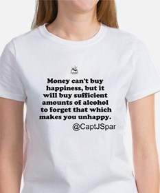 Money cant buy happiness Tee