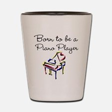 PIANO PLAYER Shot Glass