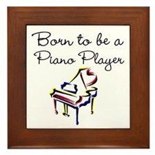 PIANO PLAYER Framed Tile
