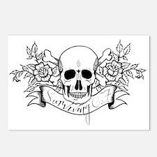 Skull Rose: Surviving C.F. Postcards (Package of 8
