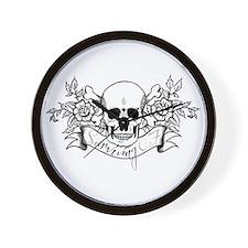Skull Rose: Surviving C.F. Wall Clock