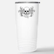 Skull Rose: Surviving C.F. Travel Mug