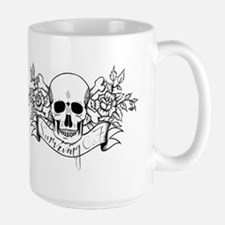 Skull Rose: Surviving C.F. Mug