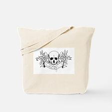 Skull Rose: Surviving C.F. Tote Bag