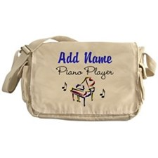 PIANO PLAYER Messenger Bag