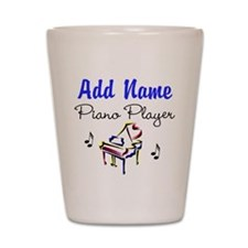 PIANO PLAYER Shot Glass