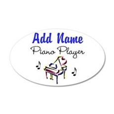 PIANO PLAYER Wall Decal